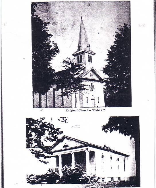 History Of Oaks Corners Church